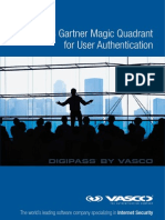 Vasco Magic Quadrant for User Authentication March 2013