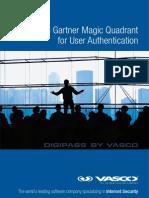 Vasco Magic Quadrant for User Authentication March 2013