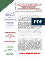 palm sunday- 2014 bulletin 1