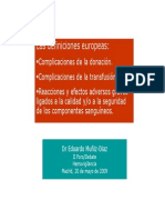 Definiciones Europa ForoHV 2009