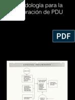Metodologia PDU