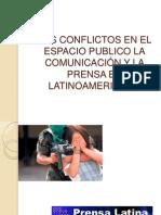 LOS CONFLICTOS EN EL ESPACIO PUBLICO LA COMUNICACIÓN
