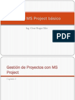 Capitulo 2 - Gestion de Proyectos en MS Project