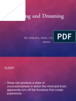 sleep and dreaming presentation