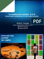 Esther Vargas, Audiencia y Redes Sociales
