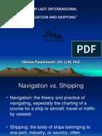 (5) Navigasi n Shipping
