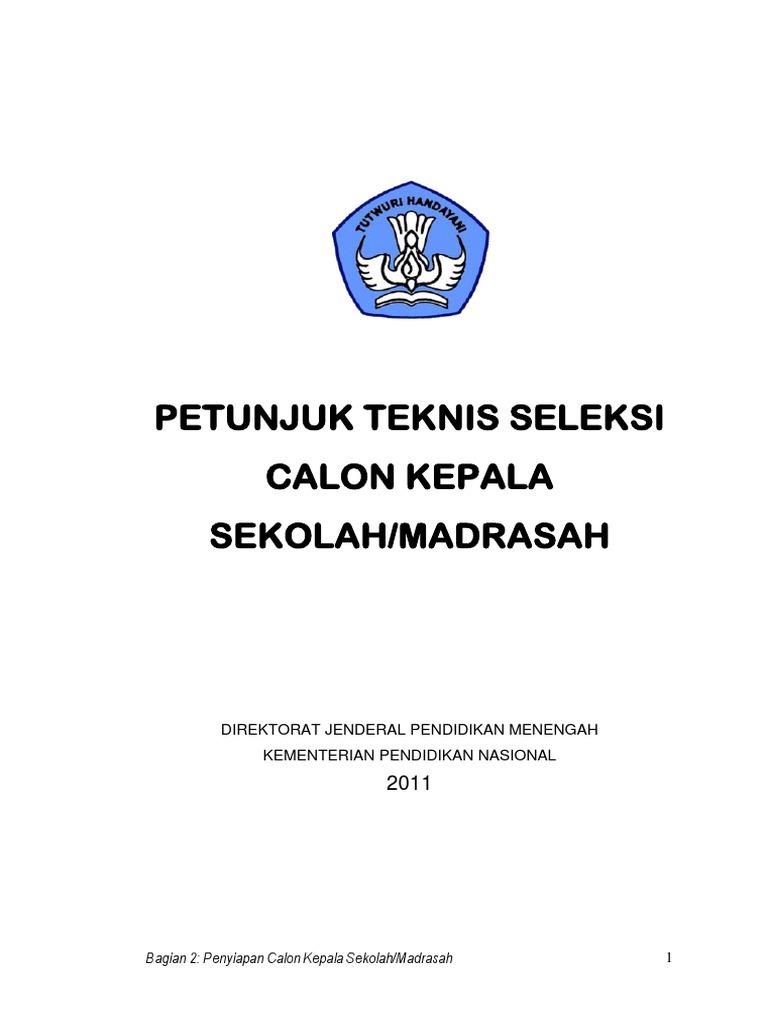 Pdf Makalah Calon Kepala Sekolah Sumarso M Pd Academia Edu