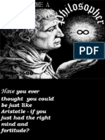 How to become a philosopher