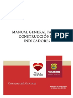 MANUAL GENERAL PARA LA CONSTRUCCI�N DE INDICADORES_
