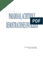 Paradojas,Acertijos y Demostraciones Invalidas