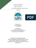 Laporan Kimia Analitik Gravimetri Septiwi