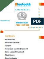Presentation on Bluetooth