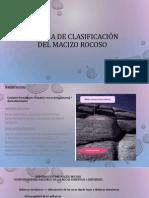 Clasificación del macizo rocoso