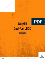 2009 Wartsila Dual Fuel LNGC Presentation