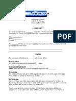 limestones performance contract