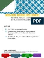 Industrial Regional Development Presentation Final