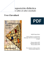 03 - La Trasposicion Didactica - Del Saber Sabio al Saber Enseñado - Yves Chevallard (pag. 3-24)