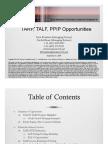 Tarp, Talf, Ppip Opportunities