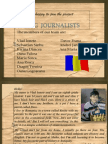 romanian young journalists