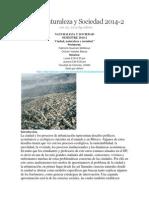 Curso Naturaleza y Sociedad 2014