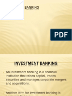 Invt Banking Ppt