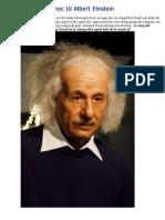 10 Dieu Nen Hoc Tu Albert Einstein