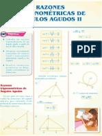 Sem 1 - Razones trigonométricas de ángulos agudos IIU