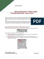 16 Como Crear Textos Creativos Con Fontwork en Writer II