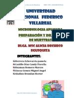 MESA N° 2-  Determinacion de microorganismos coliformes totales