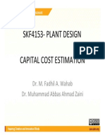 Cost Estimation for Project