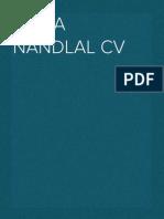 Shiva Nandlal CV