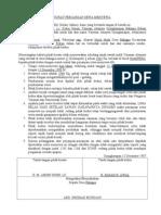 Draft Surat perjanjian Sewa Menyewa