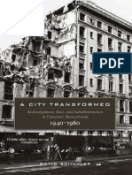 A City Transformed- Redevelopment, Race, And Suburbanization in Lancaster, Pennsylvania 1940-1980
