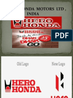 Hero Honda Marketing Ppt