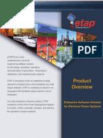 ETAP Product Overview 2012