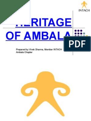 Heritage of Ambala Final Ppt (2)   Cultural Heritage   Sikhism