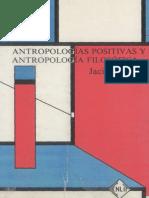 Antropologias Filo Positiva