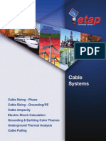 Cable Systems - ETAP