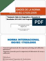 Generalidades de La Norma 17025 -InS-2013 f