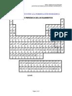 Unidad 10- Formulación inorgánica para 3º ESO