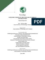 Final Proceedings of Scientific Forum on Tsunami 30mar07