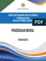 Dokumen Standard Pend. Moral Tahun 1
