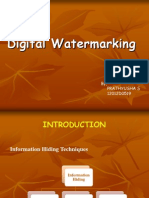 Water Marking