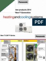 Predstavitev prednosti novih AQUAREA F-Generacije toplotnih črpalk