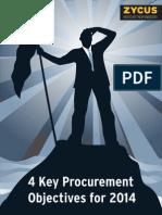 Four Key Procurement Objectives for 2014