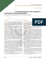 Comparación clínica de alfa dihidroergocriptina contra cabergolina mastopatia fibroquistica