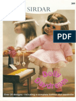 (Knitting) Dolls Clothes Booklet Dolly Daydream