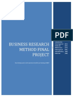 Business Research Method Final Project