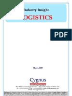 Logistics - Cygnus - ToC