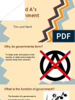 government qs and as-tim  mark
